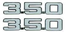 69 Camaro 350 Fender Emblem LH & RH , (Pair), NIB