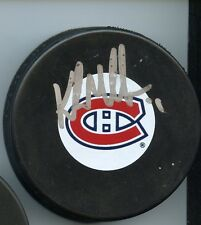 Kirk Muller Montreal Canadiens Signed Hockey Puck w/ Coa