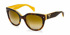 HOT NEW Genuine PRADA Havana Brown Opal Yellow Sunglasses SPR 17O FAL1Z1 PR 17OS