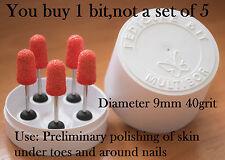 Multibor One Professional Pedicure Nail drill bit diameter 9mm 40 grit