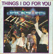 "Michael Jackson & The Jackson things i do for you live (7"" Hollande - 1981)"