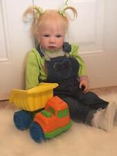 Reborn Toddler Baby Girl so adorable! was Henrietta by Regina Swialkowski