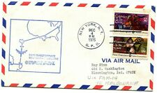 Pan American First Flight New York - Melbourne Australia - 1975