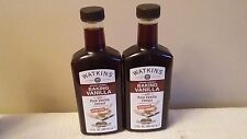 2  JR Watkins Double Strength Baking Vanilla 11 oz with Pure Vanilla Extract