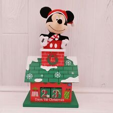 Disney Mickey Mouse Plush Christmas Countdown Perpetual Calendar
