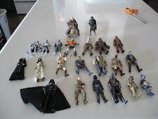 "Star Wars Figures 3 3/4"" Assorted Lot of 22"