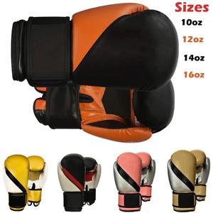 Speed Boxing Gloves Adult  Kids Sparring Gloves 6oz 8oz 10 12 14 16oz