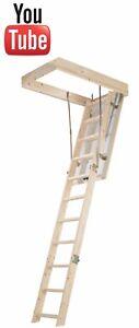 Werner 76103 Timber Complete Loft Ladder Kit