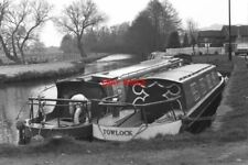 PHOTO  1984 GODALMING WHARF RIVER WEY SURREY LOOKING DOWN THE RIVER TOWARDS GUIL