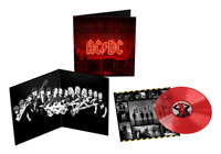 AC/DC - Power up Exclusive Limited Edition Transparent Red Vinyl LP PWR UP NEU