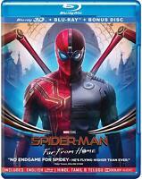 Spider-man: Far Far Home (3D + Blu-ray) (Three Disc) (Region Free) (2019) (New)