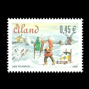 Aland 2004 - Merry Christmas - Sc 229 MNH