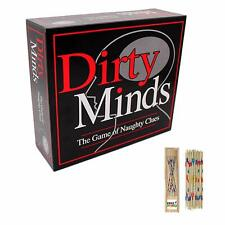 Dirty Minds Game of Naughty Clues Drinking Adult After Dinner Game Paul Lamond