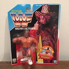 WWF/WWE Macho Man Randy Savage Vintage Hasbro Serie 1992 Figura de Acción 3 si usar En Blister