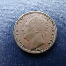 More details for 1828 george iv half farthing in very fine condition recieve coin pictured