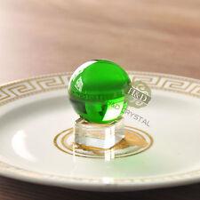 9 Farben Glaskugel Kristallkugeln ohne Lufteinschlüsse Glaskugeln 40mm