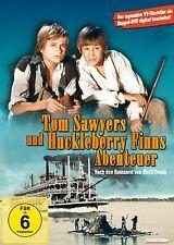 DVD * TOM SAWYERS UND HUCKLEBERRY FINNS ABENTEUER - TV VIERTEILER # NEU OVP $