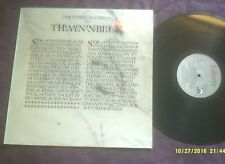 THE STRANGLERS-THE GOSPEL ACCORDING TO THE MENINBLACK LP GREEK ISSUE