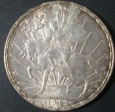 Mexico RARE 1912 $1 peso silver horse beautiful coin please see the coin
