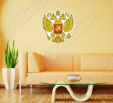Russia Coat Of Arms Hockey Хоккей Росся Wall Sticker Room Interior Decor 20
