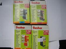 GEHA bonuspack Set Tinta C35 C34 C33 C32 bjc-6000 bci-3ebk -3em bci-3c bci-3m
