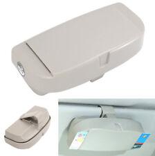 ABS Auto Sonnenblende Clip Gläser Box Brillen Aufbewahrungsbox + Karten Inserter