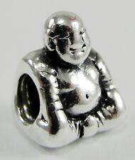 Pandora Sterling Silver Smiling Meditation Buddha Charm Bead #790478 Discontinue