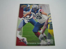 2014 CFL UPPER DECK FOOTBALL JOSH BOURKE CARD #53**MONTREAL ALOUETTES**