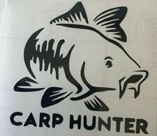 Carp pike grossier hunter pêche voiture fenêtre mur art sticker//autocollant vinyle van