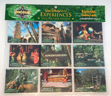 WALT DISNEY WORLD Experiences Collector Card Set ADVENTURELAND  In Sleeve