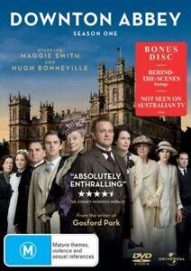 Downton Abbey  Season One (DVD Region 4 NEW+SEALED