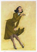 Ex-libris Offset John Lord Femme au pistolet Hobby Folie