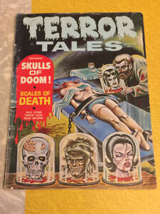 TERROR TALES Comic Magazine Vol. 1, No. 7 March 1969 VG Condition MUST SEE
