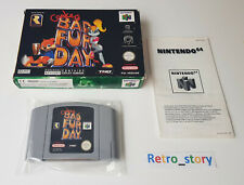 Nintendo 64 N64 - Conker's Bad Fur Day - PAL - EUR