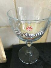 Trappist Westmalle glas verre glass new Belgium 33 cl 2020 Belgium new model