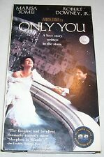 Only You (VHS, 1995, Closed Captioned)(Comedy) Robert Downey Jr.!