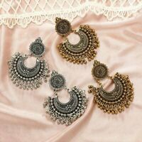 Metal Tassel Indian Ethnic Vintage Drop Dangle Earrings Fashion Jewelry Women