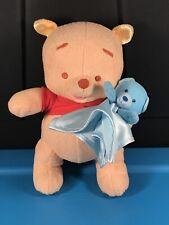 "Fisher-Price NICE BABY WINNIE THE POOH BEAR 9"" Plush STUFFED ANIMAL Toy 2005"