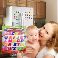 26PC Colorful Letters Kids Baby Toy Alphabet Fridge Magnet Child Educational Toy