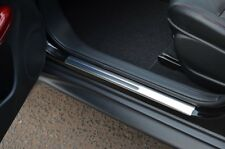 Chrome Door Sill Trim Covers Scuff Protectors Set To Fit Nissan Juke (2010+)