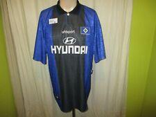"""Hamburger SV Original uhlsport Auswärts Trikot 1997/98 """"HYUNDAI"""" Gr.XL"""