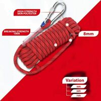 ISOP Climbing Rope 10/15/23 m - 8mm - Training - Exercise - Multifunctional