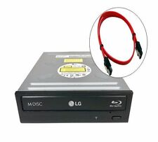 LG Internal Sata BluRay 14X BDXL BDR/DVD/CD Burner ReWriter Drive + SATA CABLE