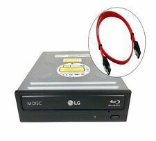 LG 14X Internal Sata BluRay BDXL BDR/DVD/CD Burner ReWriter Drive + SATA CABLE