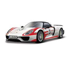 """Bburago 28009 Porsche 918 Spyder """"Weissach"""" #3 rot/weiß 1:24 NEU! °"""