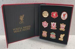 Liverpool Official Crest Badge Set - Set of 9 Crest Badges