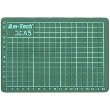 Amtech S0542 A5 Cutting Mat Non-Slip Accurate Cutting Card Paper Crafts