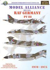 Model Alliance Decals 72188 1:72 RAF Germany 1970 - 1975 Part 3