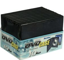NEW SEALED DVD Case Set of 10 For Dvd Storage