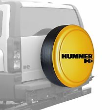 "33"" Hummer H3 Logo - Rigid Tire Cover - Painted - Yellow"